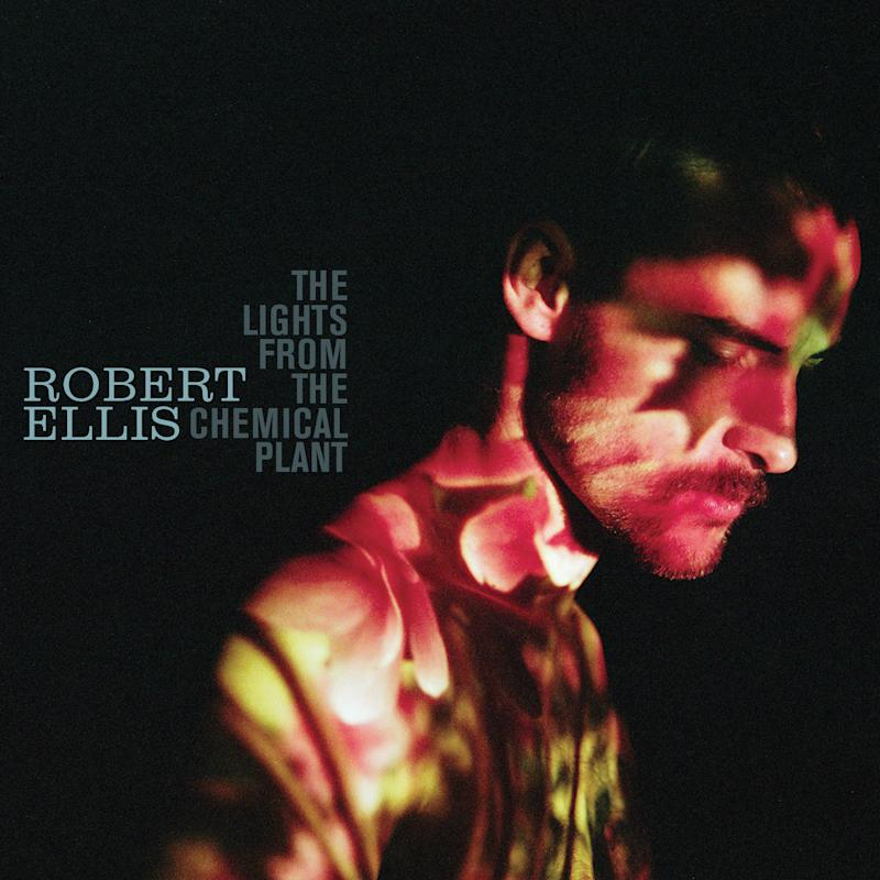 """This CD cover image released by New West Records shows """"The Lights From The Chemical Plant,"""" by Robert Ellis. (AP Photo/New West Records)"""