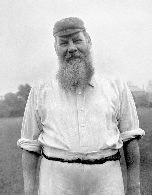 WG Grace set the template for others to follow.