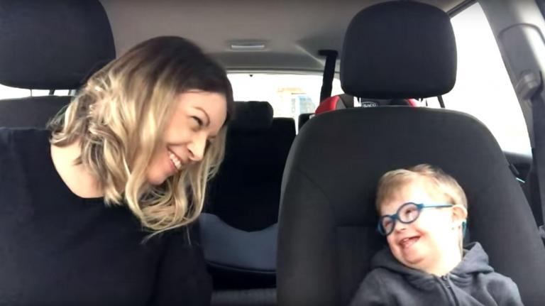 Mothers of children with Down Syndrome create moving 'carpool karaoke' lip sync video