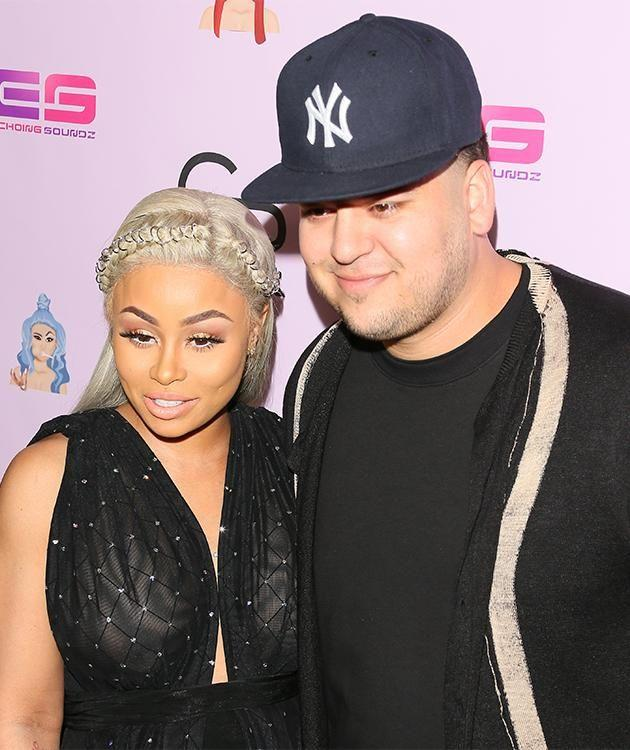 Rob Kardashian's first red carpet in years. Photo: Getty