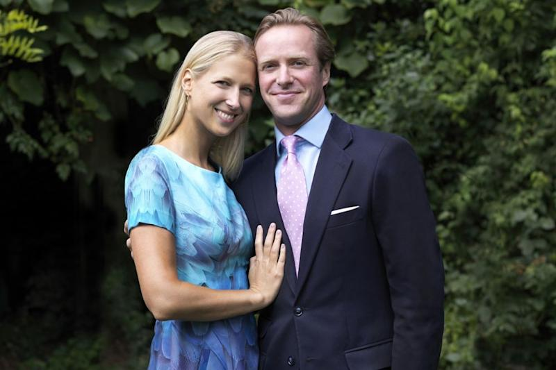 Lady Gabriella Windsor and Tom Kingston | PA Images