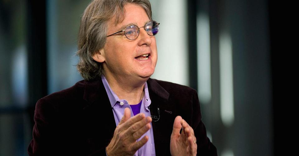 Roger McNamee, managing director and co-founder of Elevation Partners. (Photo: David Paul Morris/Bloomberg/Getty Images)