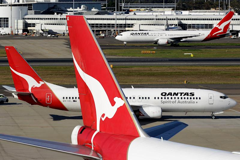Australian airline Qantas is testing its first nearly 20-hour nonstop flight from New York to Sydney Friday night, with 50 passengers and crew members along for the