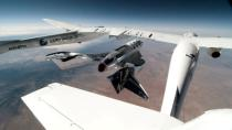 FILE PHOTO: Virgin Galactic's VSS Unity is seen during its first manned spaceflight
