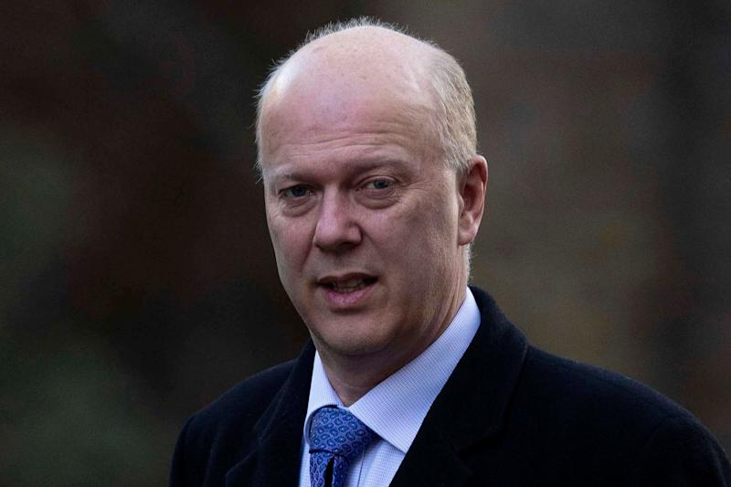 Transport Secretary Chris Grayling is facing calls to resign (EPA)
