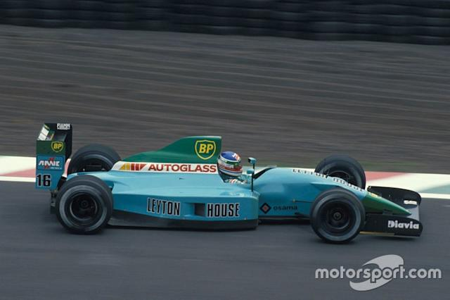 "#16: Ivan Capelli (Leyton House) <span class=""copyright"">Ercole Colombo</span>"