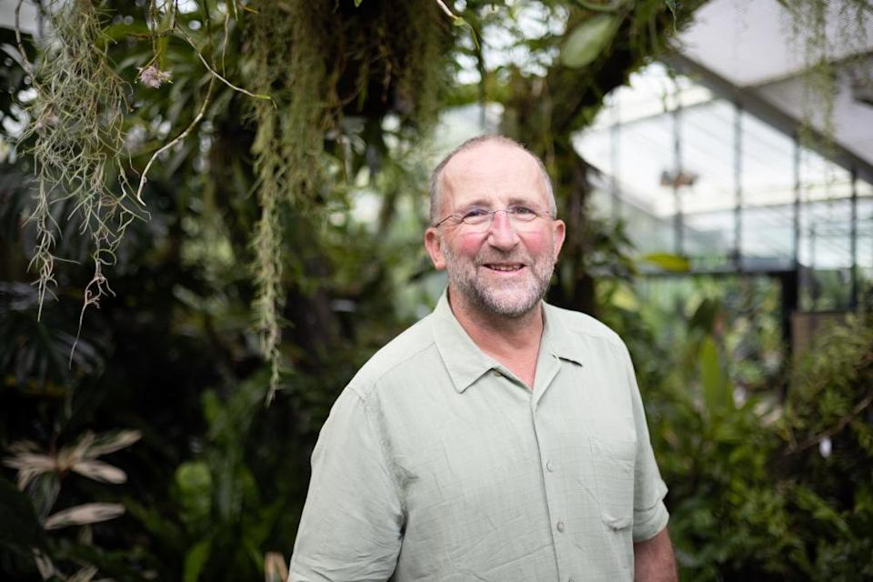 Mike Fay, orchid specialist and head of the conservation genetics team at Kew