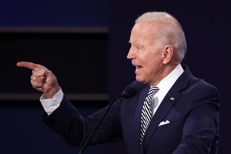 Joe Biden, candidato presidencial del Partido Demócrata. (Photo by Scott Olson/Getty Images)