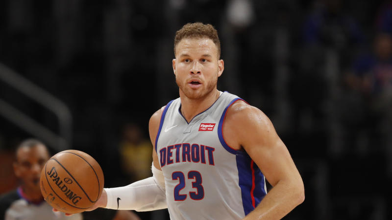 Detroit Pistons forward Blake Griffin.