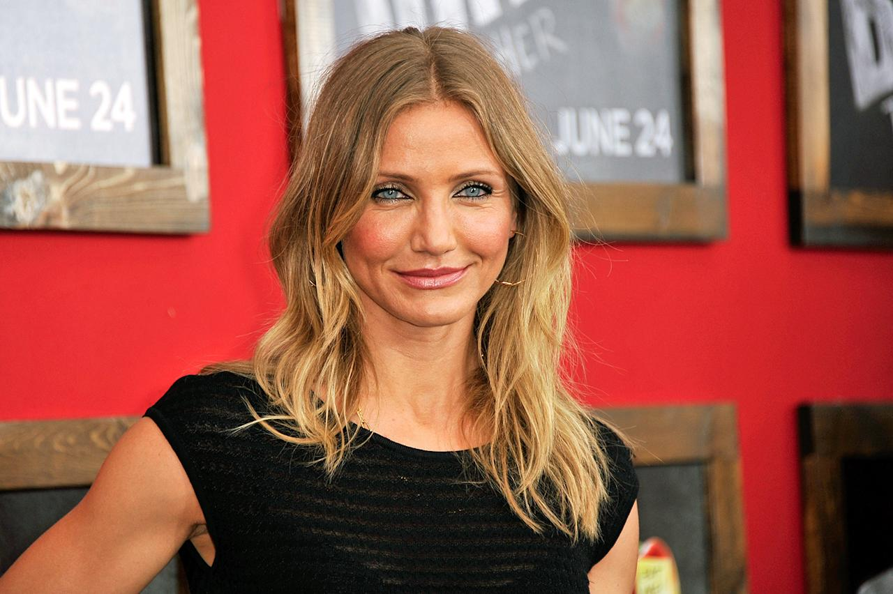 "Cameron Diaz starred in the Oscar-nominated film ""Being John Malkovich."""