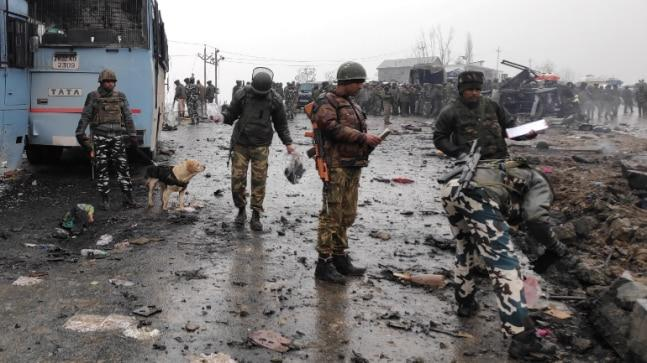 The Pakistan-based terrorist group Jaish-e-Mohammed claimed responsibility for the bombing in Pulwama, and the Indian Army has accused Islamabad's spy agency ISI of involvement.