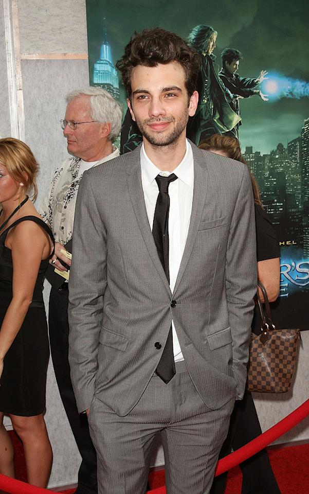 """<a href=""""http://movies.yahoo.com/movie/contributor/1807480083"""">Jay Baruchel</a> at the New York City premiere of <a href=""""http://movies.yahoo.com/movie/1810073953/info"""">The Sorcerer's Apprentice</a> - 07/06/2010"""
