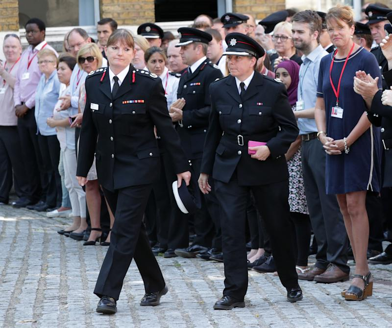<strong>London Fire Brigade Commissioner Dany Cotton, left, is leading calls to abolish the word 'firemen'</strong> (Yui Mok - PA Images via Getty Images)