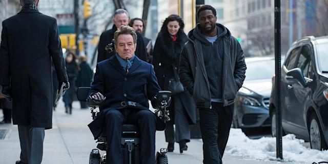 Bryan Cranston and Kevin Hart in 'The Upside'. (Photo: TIFF)