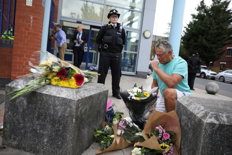Police sergeant shot dead at police station in London