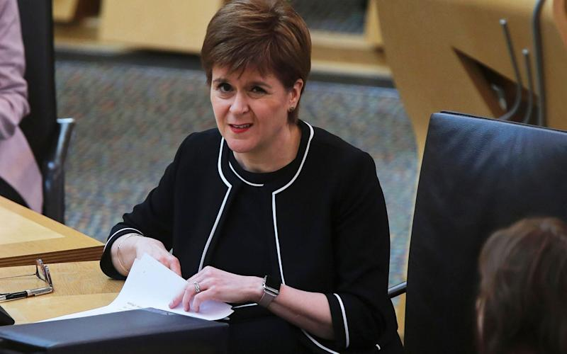 Nicola Sturgeon has urged Scots to use their judgment when easing the lockdown - Shutterstock