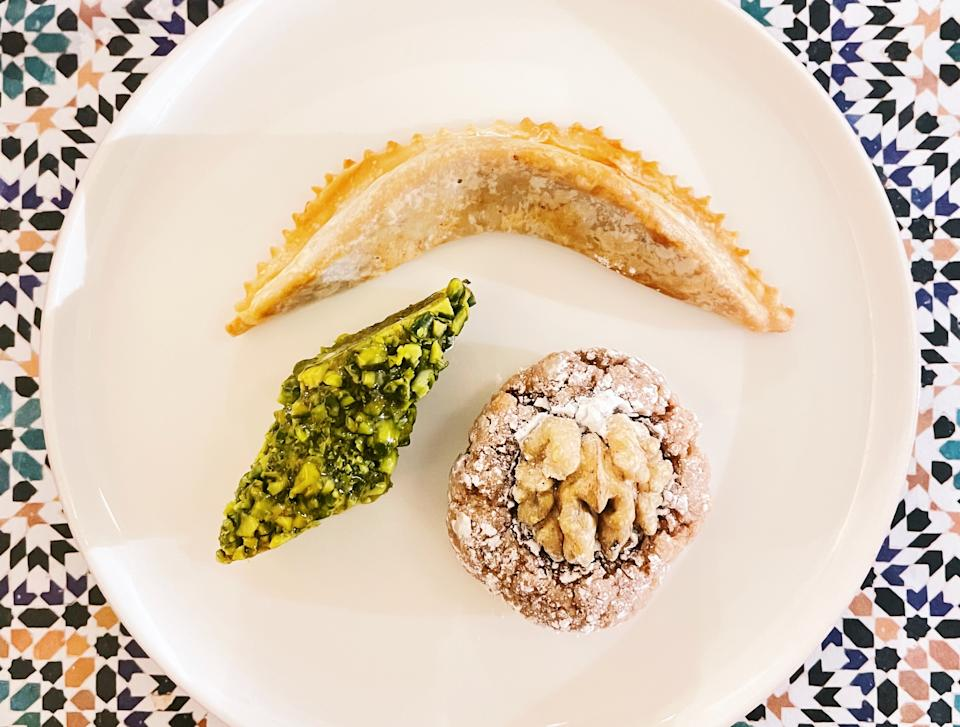 Moroccan pastries (Photo: Stephanie Zheng)