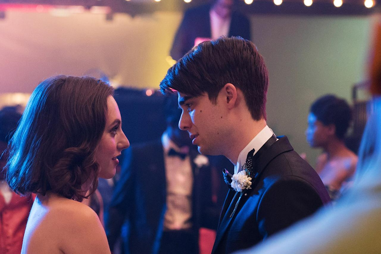 """<p><strong>Alex Strangelove</strong> tells the story of Alex Truelove (Daniel Doheny), a high school senior who seemingly has it all - he's student body president, has an amazing girlfriend, Claire (Madeline Weinstein), and has a bright future ahead. With all going well, he plans to pass his last teenage milestone by losing his virginity to Claire. That is, until he meets Elliot, an openly gay kid from across town. What follows is an adventure of friendship, love, and sexual exploration in our day and age.</p> <p><strong>Where to watch</strong>: <a href=""""http://www.netflix.com/title/80168189"""" target=""""_blank"""" class=""""ga-track"""" data-ga-category=""""Related"""" data-ga-label=""""http://www.netflix.com/title/80168189"""" data-ga-action=""""In-Line Links"""">Netflix</a></p>"""