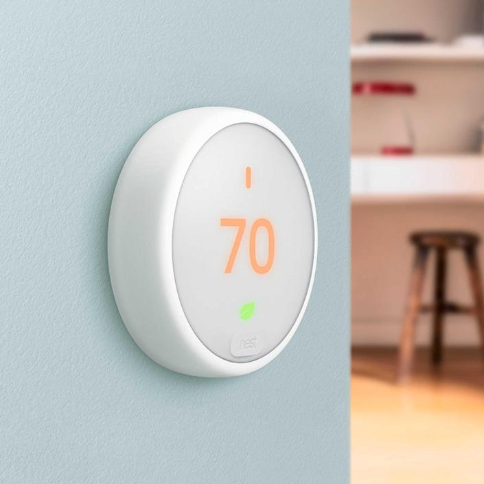 <p>The <span>Google Nest Thermostat E</span> ($169) is one of the oldest smarthome devices in the game - and this model tops anything that came before it. Save money, be more eco-friendly, and replace all those busted thermostats with this sleek and sexy easy-touch device.</p>