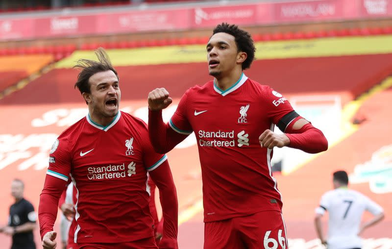 Premier League - Liverpool v Aston Villa