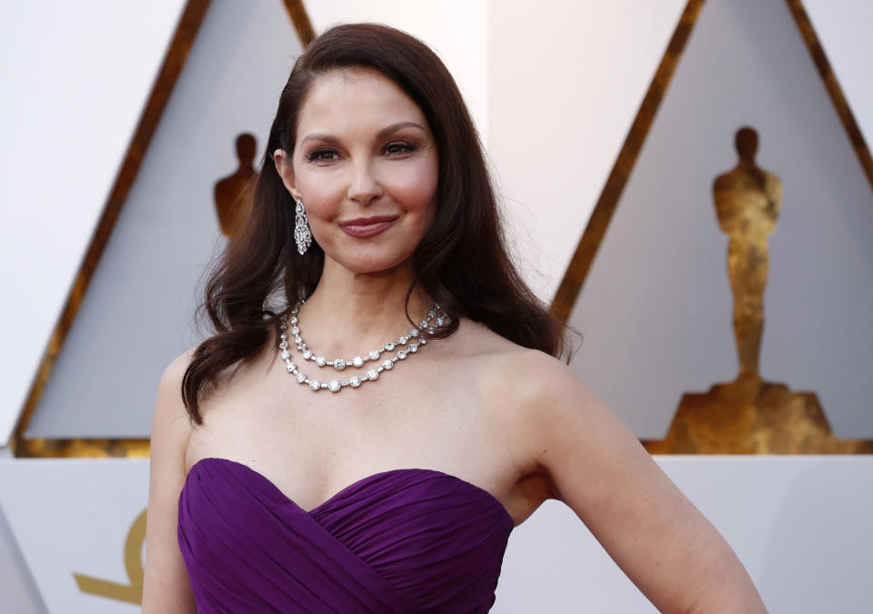 Ashley Judd says she has been