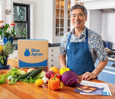 Blue Apron partners with James Beard award-winning Chef Roy Yamaguchi to bring Hawaii-inspired menu to kitchens around the country