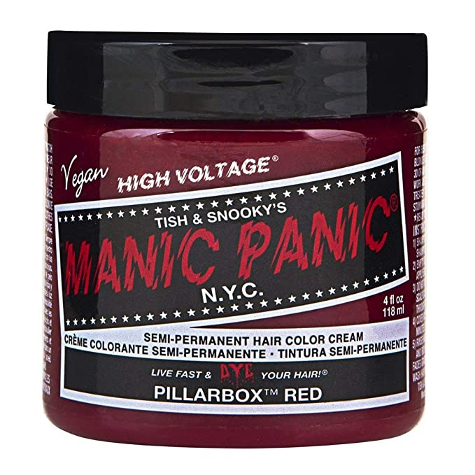 """<h3>Manic Panic Semi-Permanent Hair Color Cream</h3><br><br>Test-driving a new, fun hair color doesn't have to come with an expensive salon price tag. If you're comfortable going the DIY route, Amazon Prime a jar of Manic Panic and tint your own tresses by mixing the stuff into a conditioner or using it on already bleached — or naturally blonde — hair. (Pro tip: Don't forget to use gloves.)<br><br><strong>Manic Panic</strong> Classic High Voltage Semi Permanent Hair Color, $, available at <a href=""""https://amzn.to/2I1fraN"""" rel=""""nofollow noopener"""" target=""""_blank"""" data-ylk=""""slk:Amazon"""" class=""""link rapid-noclick-resp"""">Amazon</a>"""