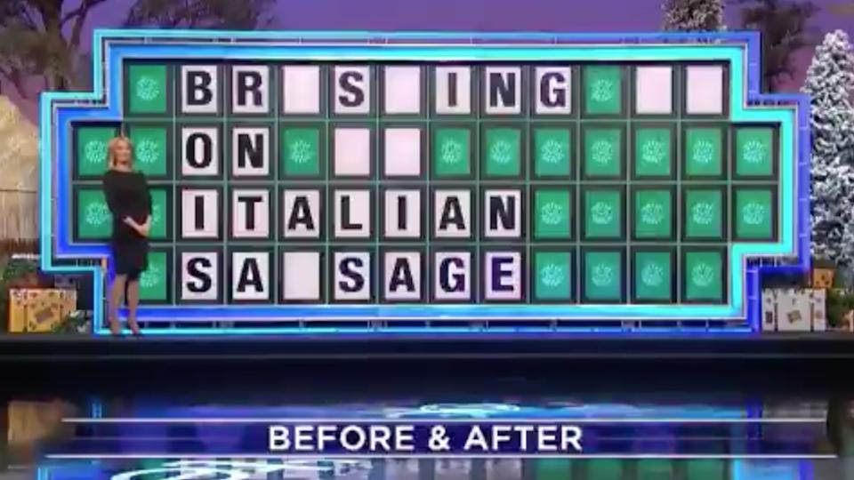 'WTF': Wheel of fortune answer leaves viewers blushing. Source: Twitter
