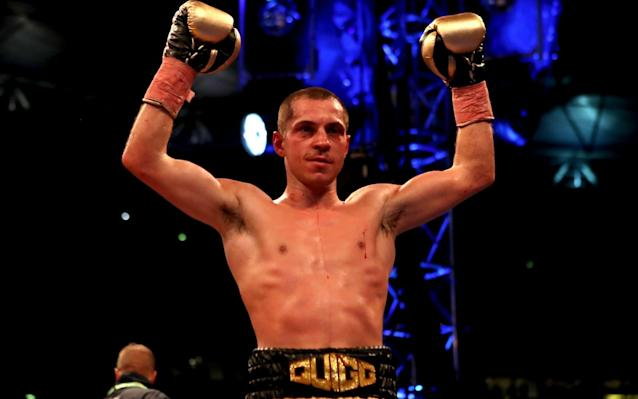 <span>Quigg now has a Wembley win to his name</span> <span>Credit: PA </span>