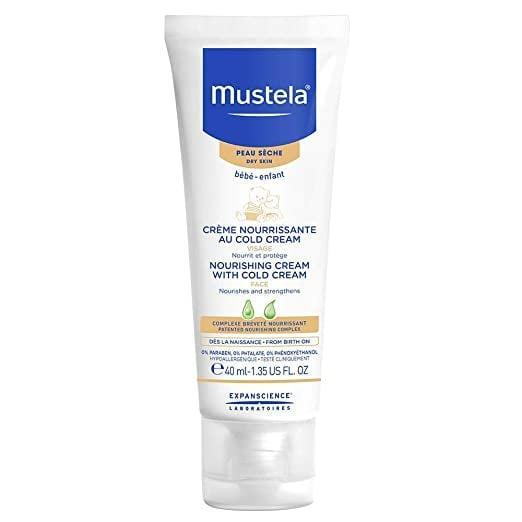 <p>Loaded with ceramides and avocado perseose, the <span>Mustela Nourishing Baby Face Cream with Cold Cream</span> ($12) is so gentle it's actually meant for babies!</p>
