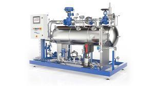 Clean Steam Generator for Food and Beverage ensures total safety and eliminates the risks of using plant steam when in direct contact with food and beverages.