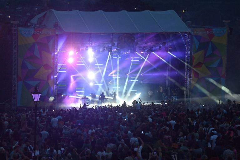 Kaleidoscope is one of the largest live events to have taken place in England since the country lifted its last coronavirus restrictions on July 19