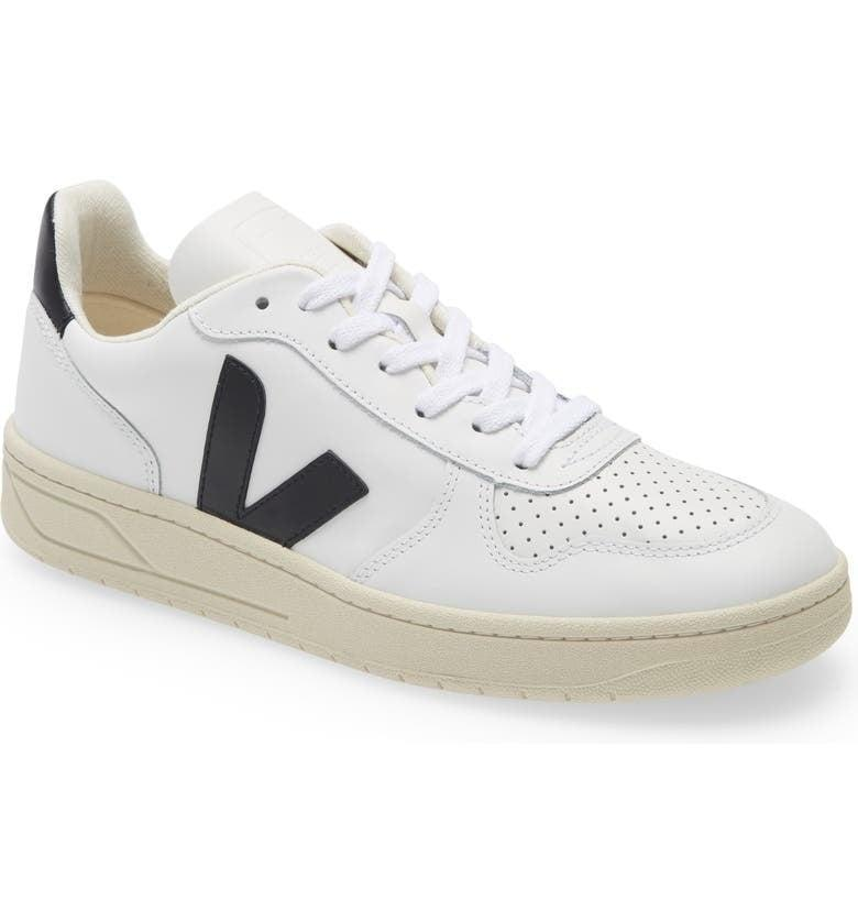 """<p><span>Veja V-10 Sneakers</span> ($150)</p> <p>""""These classic sneakers truly go with everything, and the design will never go out of style.""""<br> - Lisa Sugar, president and founder, POPSUGAR</p>"""