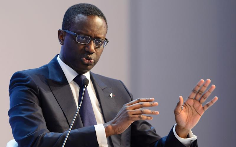 Credit Suisse boss Tidjane Thiam delivered 2017 results that showed a reduced loss that beat market expectations - AFP or licensors