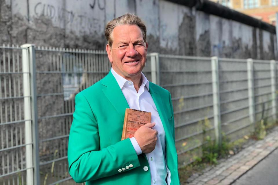 Michael Portillo in Great Continental Railway Journeys: BBC/Boundless, part of FremantleMedia UK
