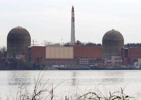 File photo of the Indian Point nuclear power plant in Buchanan, New York
