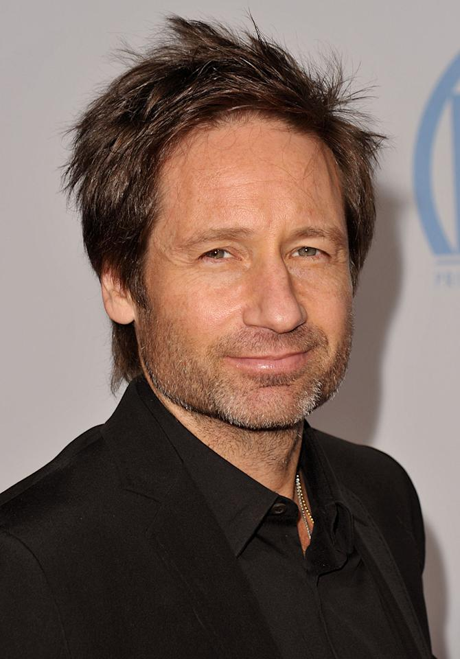 "<a href=""http://movies.yahoo.com/movie/contributor/1800026305"">David Duchovny</a> at the 21st Annual Producers Guild Awards in Hollywood, California - 01/24/2010"