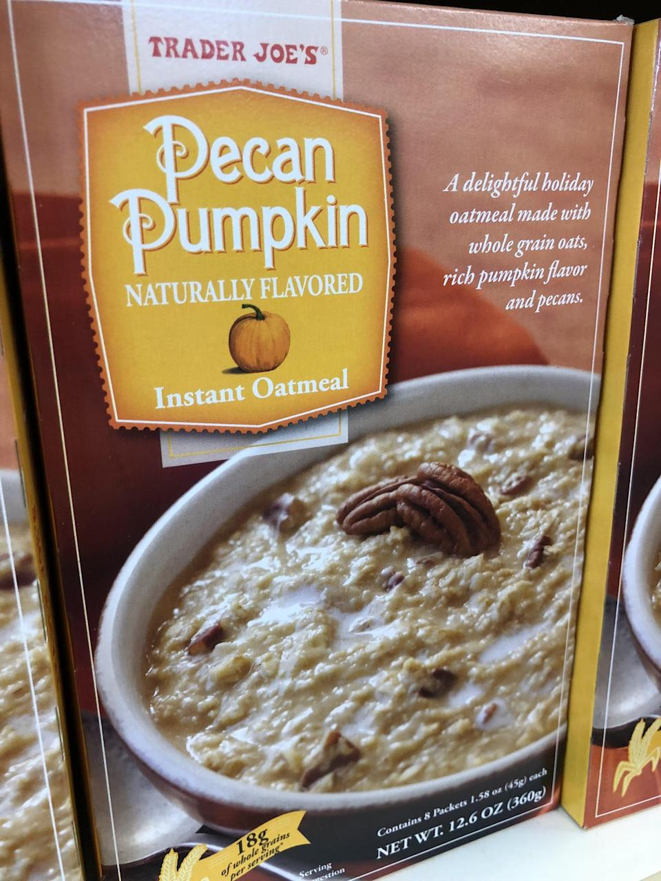 <p>Because these dark mornings are hard, and a warm, toasty bowl of this spiced oatmeal will make everything better.</p>