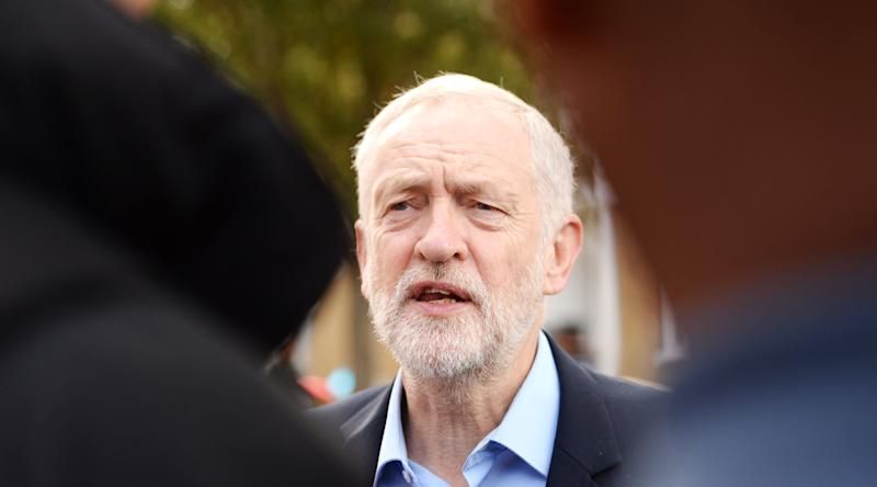 """<strong>Jeremy Corbyn: """"I think that people who have committed crimes ought to be put on trial.""""</strong> (Victoria Jones - PA Images via Getty Images)"""