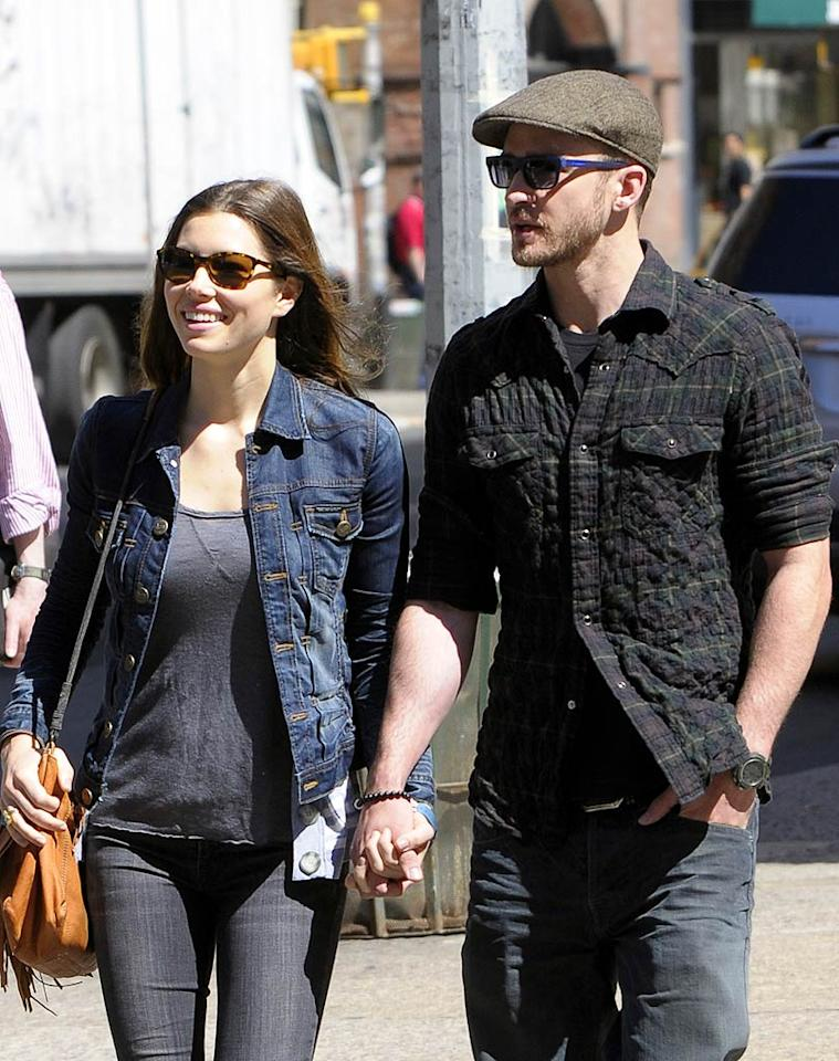 """Despite rumors that Jessica Biel and Justin Timberlake are always breaking up, the Hollywood couple is still going strong after three years. Elder Ordonez/<a href=""""http://www.infdaily.com"""" target=""""new"""">INFDaily.com</a> - May 5, 2010"""