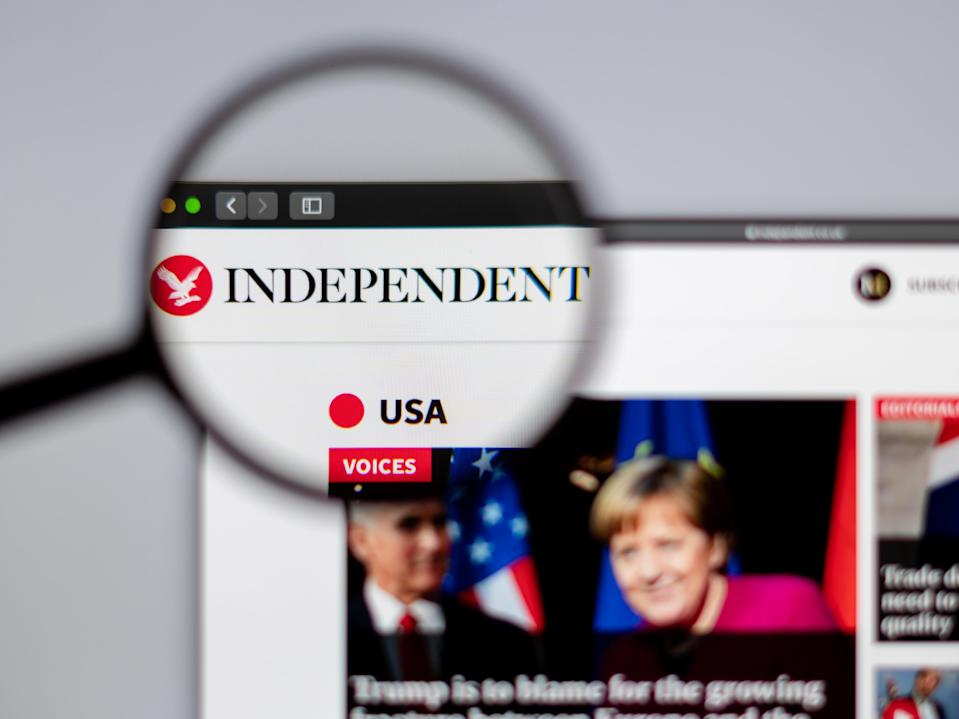 The Independent is one of thousands of news outlets across the world that has been assessed by NewsGuard for credibility (The Independent)