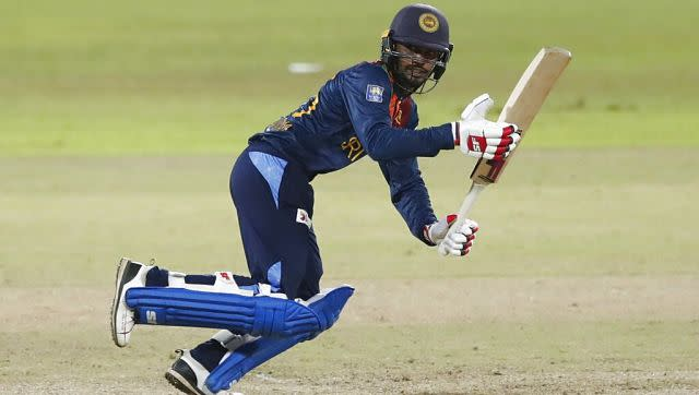 Dhananjaya de Silva (in picture) would remain unbeaten on 23 with Hasaranga (14*) at the other end to see the Lankans through with seven wickets to spare. AP