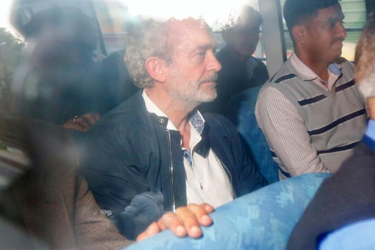 British national Christian Michel James (C) was the alleged middleman in a deal between India and Anglo-Italian helicopter firm AgustaWestland