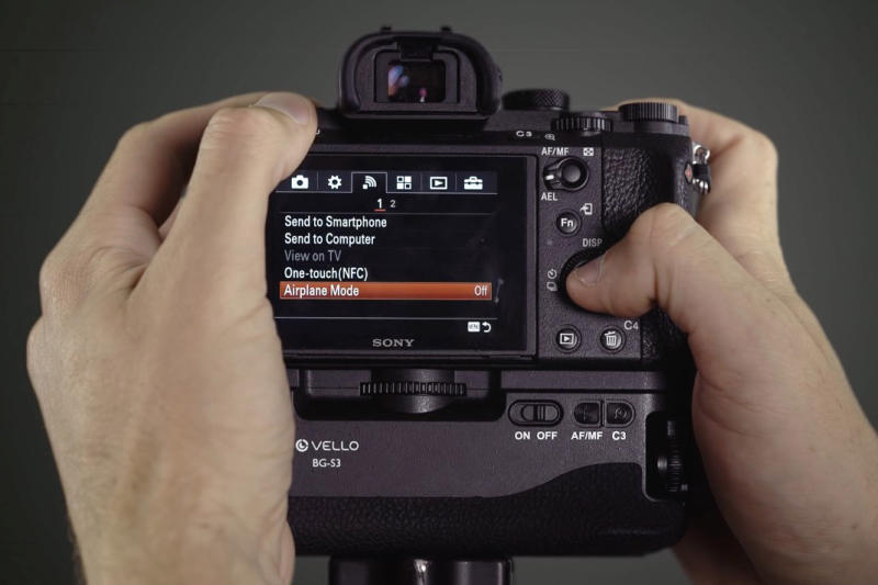 Video shows 7 tips for improving your camera's battery life