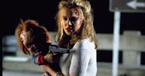 <p>Have any of the <em>Chucky</em> films made sense? This fourth one certainly didn't. But it stars Chucky, his bride doll Tiffany (the soul of Jennifer Tilly's human character), and Tiffany's neighbor Jade, played by Katherine Heigl. All you need to know is Jade is nothing like a bridesmaid or doctor.</p>