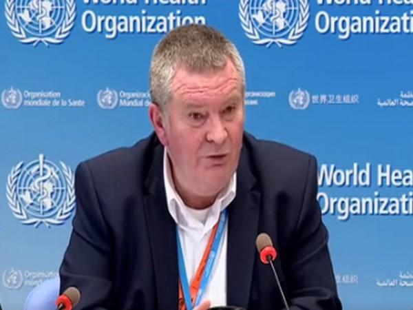 WHO Health Emergencies Programme executive director Mike Ryan during a press briefing on Tuesday. (Photo Credit: WHO Twitter)