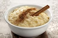"""<p>Rice pudding ranks among those <a href=""""https://www.thedailymeal.com/eat/guilty-pleasure-foods?referrer=yahoo&category=beauty_food&include_utm=1&utm_medium=referral&utm_source=yahoo&utm_campaign=feed"""" rel=""""nofollow noopener"""" target=""""_blank"""" data-ylk=""""slk:guilty pleasure foods we will not apologize for loving"""" class=""""link rapid-noclick-resp"""">guilty pleasure foods we will not apologize for loving</a>. And Montana agrees.</p>"""