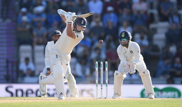 Sam Curran played some crucial innings in the lower order in the Test series against India