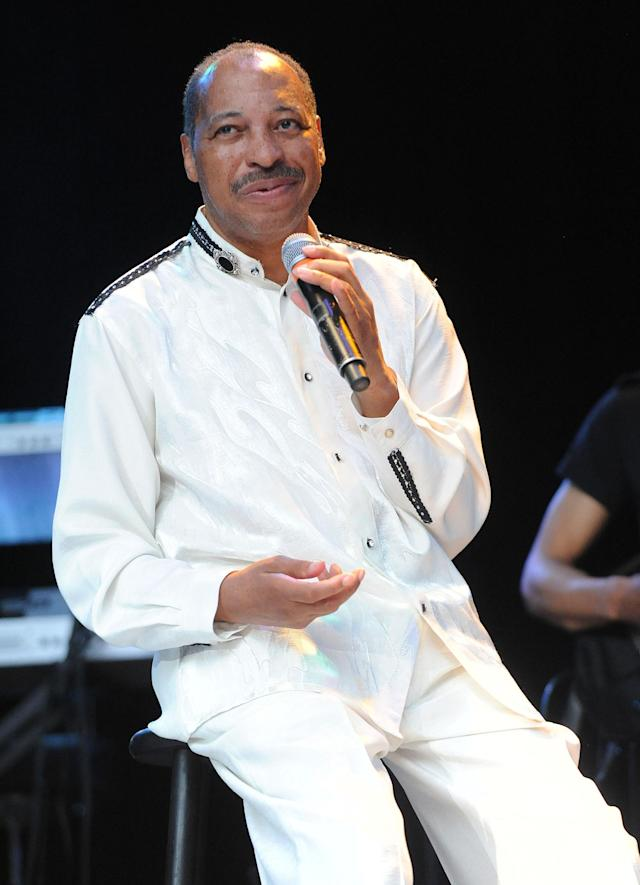 <p>Keith Wilder was the singer of the influential '70s funk outfit Heatwave. He died in his sleep Oct. 29 following unspecified health problems. He was 65.<br>(Photo: Getty Images) </p>