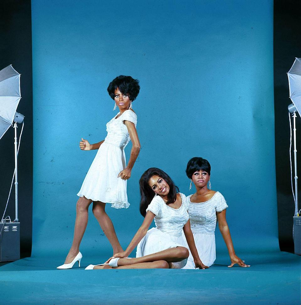 """<p>The Supremes saw some major shake-ups in 1967, as <a href=""""https://www.soulmusic.com/article/motown-spotlight-december-2019"""" rel=""""nofollow noopener"""" target=""""_blank"""" data-ylk=""""slk:Florence Ballard was replaced by Cindy Birdsong"""" class=""""link rapid-noclick-resp"""">Florence Ballard was replaced by Cindy Birdsong </a>(far right). Ballard left the group after a series of personal disputes with Motown. </p>"""